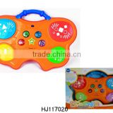 Electric Plastic Toys Drum, Baby's Flashing Drum, Musical Dotting Drum