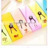 Candy pencil case elastic band pencil stationery school pencil bags
