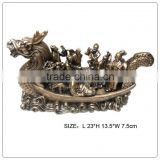 Eight Wise Play In The Dragon Boat ,Chinese dragon sculpture/dragon ornaments