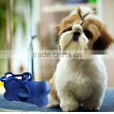2016 Wholesale Pet Plastic Dog Waste Bag/Trash Bags dog shaped poop bag dispenser fabric