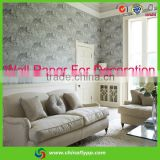 Shanghai supplier backing material self adhesive glitter wall paper