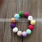 20mm Round Mix Color Ball Knitting Crochet Beads                                                                         Quality Choice
