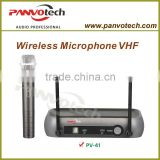 Panvotech vhf wireless karaoke microphone