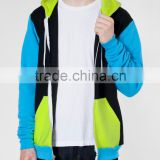 Fashion cut and sew hoodie for men