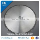 Aluminum profile cutting carbide saw blade clean cutting with no burrs
