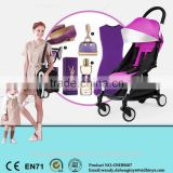 High Landscope Luxury Baby Stroller 3 in 1 with Excellent Damping System Prams
