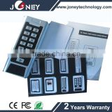 125khz em-id Metal case waterproof standalone keypad access controller with anti-temper function 2000 users