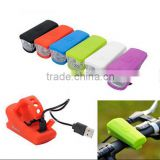 Bike Bicycle USB Light Front Led Light / Cycling Riding safety light / USB Rechargeable BIKE light
