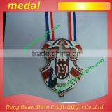 Promotional high quality medal with ribbon