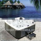 Christmas discount spa whirlpool portable bathtub,deluxe mixing hot sex tub,dual zone swim spa