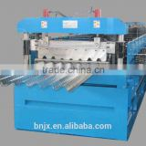 Easy-operated Floor Tiles Zinc Deck Roll Forming Machine/Steel Sheet Floor Deck Production Line