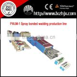 PWJM-1 Nonwoven polyester fiber wadding making line