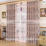 luxury curtain fabric traditional jacquard blackout fabric for curtains ready made curtains for living room