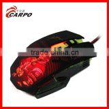 OEM 6D Wired Mouse Ergonomic mouse Gaming Mouse with LED light,computer luminous gaming mouse