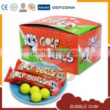 Delicious bubble gum fruit flavor golf ball
