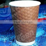 paper cup for coffee with handle/hot cup for coffee/double wall glass coffee cup for coffee