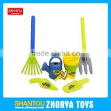 funny summer toys plastic happy garden tools for kids garden tool play toy