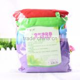 High absorption, dehumidify, deodorization, negative ion and far-infrared ray bamboo charcoal bag