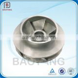 stainless steel 304 pump impeller, centrifugal impeller