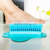 Foot Clean Plastic Massage Brush Bath Shower Foot Scrubber