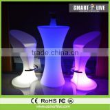 translucent led bar table for nightclub