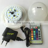 SMD5050 rgbw 16 colors change ir remote control led battery lamps