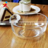 Microwave oven glass bowl bowl bubble rainbow noodle bowl bowl salad bowl transparent rice bowls medium household bowl suit for