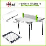 plastic folding camping table