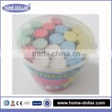 High quality eco friendly big dustless multi color pavement jumbo school & kid sidewalk chalks manufacturers