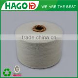 High quality Ne 6/1 recycled/regenerated polyester cotton blended glove yarn, glove knitting yarn