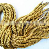 Gold Metallic handle rope