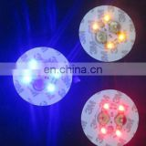 4led round shape antique wine bottle coaster