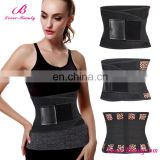 Best sale leopard pattern sports running slimming waist corset women