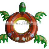 inflatable turtle shape swim ring