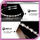 Han edition ladies fashion hair band Creative pearl diamond inlaid exquisite corrugated headddress