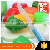china wholesale cutting vegetables toy kitchen toy kids with safety materials