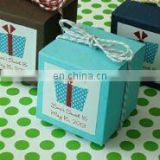 Personalized Party Theme Cube Favor Box