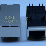 Ingke YKGU-8500BNML 100% cross 7499110124 Through Hole RJ45 Jacks with Integrated Magnetics