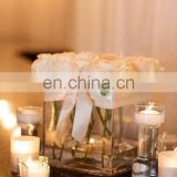 Wholesale acrylic clear flower stand plexiglass acrylic vase