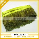 New Products yellow pheasant feathers trimming wholesale