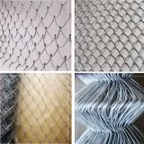 High Quality hot dipped galvanized diamond wire mesh used chain link fence for sale