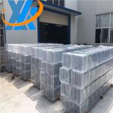 Hot dip galvanized power engineering and communication project straight wire mesh cable tray / zinc basket wire tray low price