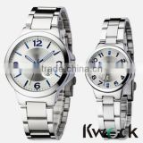 Newest Couple Lovers' Leatheroid Band Quartz Romantic Wrist Watches Men's Women's