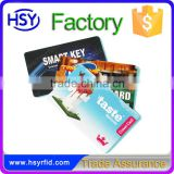Hot Sales CR80 Offset Printing HF 13.56Mhz PVC Card for Access Control Reader