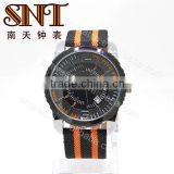 SNT-NY006 fashion colorful soft mesh nylon band watch