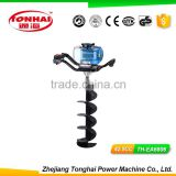TH-EA6806 52CC gas powered post hole digger for tree transplanting earthquake earth auger