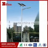 China manufacturer solar panel battery high power led solar street light outdoor luminary