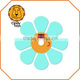 Wooden Craft Braiding Tool Ladybird Flower 1 pcs for Kids