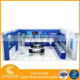 New development led acrylic cabinet acrylic camera and phone blue display cabinet