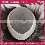Best quality mens hair pieces, hair replacements, men's hair systems toupee for men male